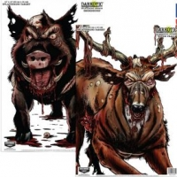 Birchwood Casey Darkotic Combo Pack Smokehouse Splatter Target