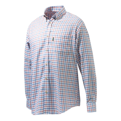 Beretta Classic Shirt - Red/ Blue Check