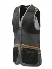 Beretta Full Mesh Vest - Black/Grey
