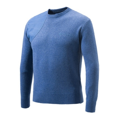 Beretta Classic Roundneck Sweater - Blue