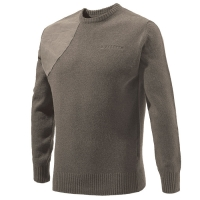 Beretta Classic Roundneck Sweater - Brown