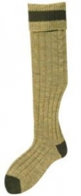 Bisley No15 Stockings - Antique/Olive
