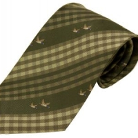 Bisley Checked Duck Tie