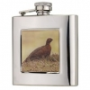 Bisley 6oz Square Grouse Flask image 1
