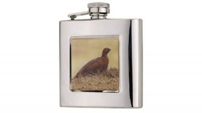 Bisley 6oz Square Grouse Flask