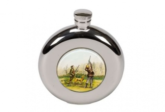 Bisley Shooting Round Flask
