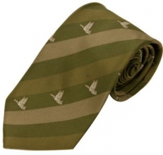 Bisley Striped Duck Tie