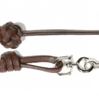 Bootlace Leather Lanyard