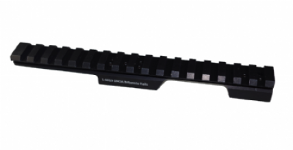 Britannia Rail CZ455 11mm Dovetail Rear Extended Rail Aluminium