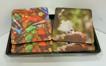 Gun & Game Cartridge Coasters