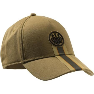 Beretta Corporate Striped Cap - Tan