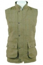 Derby Tweed Bodywarmer - Sage