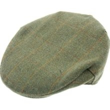Derby Tweed Flat Cap - Sage