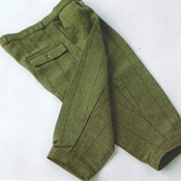 Derby Dark Tweed Breeks - Olive