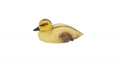 Yellow Duckling Decoy