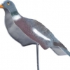 Flocked Pigeon Shells - Pack of 6 image 1