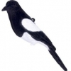 Flocked Magpie Decoy image 1
