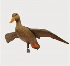 Flying Hen Mallard Decoy