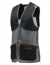 Beretta Full Mesh Vest - Black and Grey