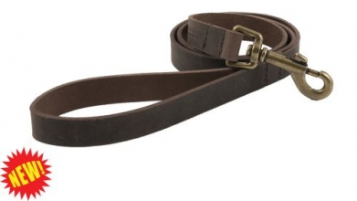 Heritage Leather Havana Dog Lead