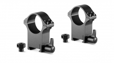 Hawke Professional Steel Ring Mounts 30MM-WEAVER-EXTRA HIGH