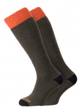 Horizon Winter Sport Merino 2pk Olive/Orange