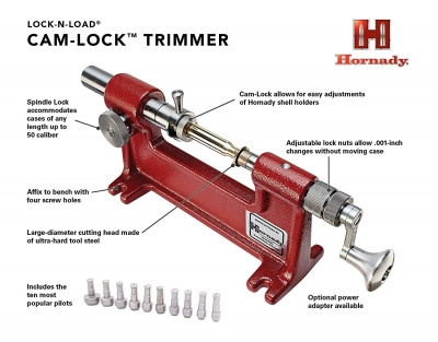 Hornady Lock'n'Load Cam-Lock Trimmer