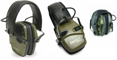 Howard Leight Impact Sport Electronic Folding Ear Muffs