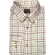 Jack Pyke Countryman Shirt- Burgundy
