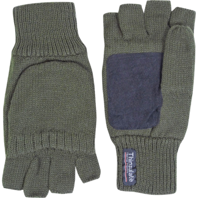 Jack Pyke Suede Palm Shooter's Mitts