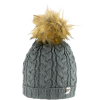Jack Pyke Ladies Cable Knit Bob Hat image 2