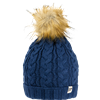 Jack Pyke Ladies Cable Knit Bob Hat image 5