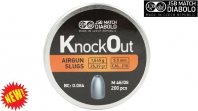 JSB Knockout Slug Pellets .22