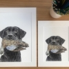 Dog and Duck Print image 2