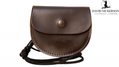 David Nickerson Leather Pellet Pouch