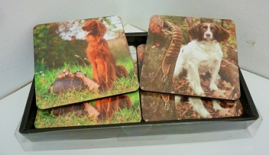 Gun & Game Man's Best Friend Coasters