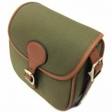 Maremmano Canvas/Leather Cartridge Bag