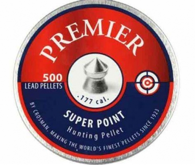 Crosman Premier Super Point Pellets .177