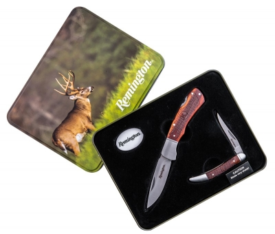 Remington Special Edition Knife and Tin Set