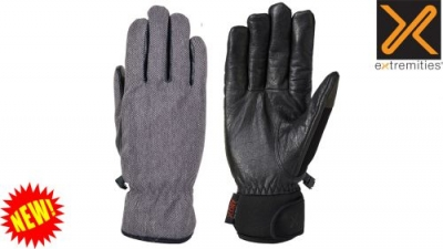 Sportsman Gloves Herringbone Grey by Extremities