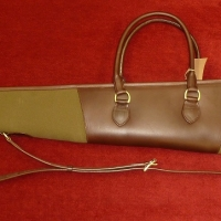 Stockbridge Shotgun Slip - Leather/ Canvas