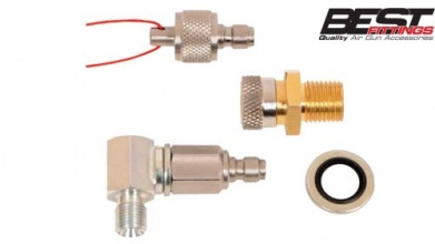 Swivelling Quick Detach Hose Kit by Best Fittings