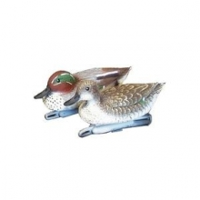 Green Wing Teal Duck Decoy