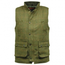 Derby Tweed Bodywarmer - Dark Tweed